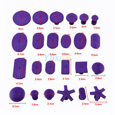24x Purple Nylon Glue Pullers Tabs Dent Lifter Slide Hammer Repair Removal Tools