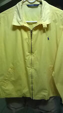 RALPH LAUREN POLO MEN'S YELLOW  JACKET SIZE M , RN 41381