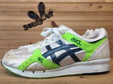 1989 Vintage OG Asics AP Gel-LD Racer 11.5 White Green Made in Korea