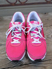 """Nike"""" Dual Fusion ST2 Raspberry Running Shoes Size 6y  (eur38.5)"""