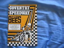 """Coventry """"las abejas"""" V Belle Vue """"ases"""" British Liga Copa Speedway match 1983"""