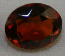 NATURAL MADEIRA RED CITRINE LOOSE GEM 8X10 FACETED OVAL CUT 2.3CT GEMSTONE CI6A