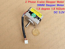 2-Phase 4-WireSchritt Motor 5mm Shaft For Nema CNC RepRap Prusa 3D Printer DIY
