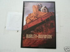 D802 BROCHURE HARLEY-DAVIDSON 1996 MODELS ENGLISH 22 PAGES HERITAGE SPRINGER