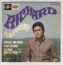 """RICHARD ANTHONY 45 tours EP 7"""" ARANJUEZ MON AMOUR -PLANTE UN ARBRE COLUMBIA 1873"""