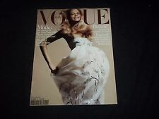 2005 MAY VOGUE PARIS MAGAZINE - JULIA STEGNER - FASHION COVER - F 3005