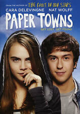 Paper Towns DVD disc/case/imperfect cover-no digital- previously viewed 2015
