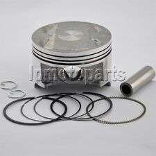 Piston Kit With Rings Clip Set For Suzuki AN400 0.5mm Cylinder Bore Size 83.5mm