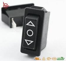 Light Country R4 Momentary Rocker Switch 3 Position Black SPDT 20 A / 250 V