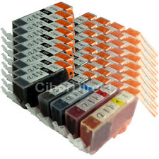 40 Compatible CANON PGI-520 and CLI-521 printer ink cartridges. VAT INVOICE.