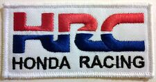 HONDA RACING HRC PATCH goldwing shadow trx 450 atv 400ex cbr600 cbrr600 cbrr1000