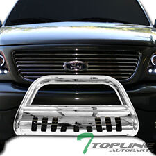 SS Chrome BULL BAR brush push bumper grill guard 04-14 FORD F150/07+ EXPEDITION