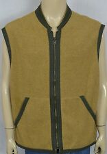Vtg Tommy Hilfiger Brown Zip Front Outdoor Hiking Vest Men's Sz XL 2 Pockets