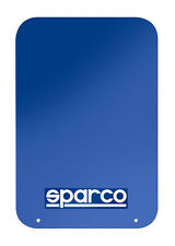 Sparco Universal Mud Flaps Blue with Blue/White Logo Set of 4 Car/Truck/SUV NEW