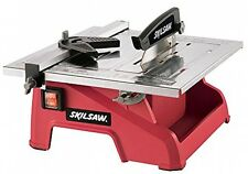 Wet Tile Saw Cutting Ceramic Miter Blade Adjustable Rip Fence Water Saws Bevel