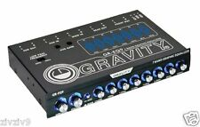 Gravity Car Jeep Audio 7 Band Pre Amp Graphic Equalizer Subwoofer Level Control