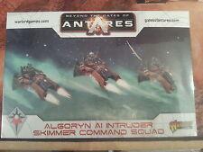 Más allá de las puertas de Antares algoryn AI intruso Skimmer COMMAND-NUEVO y Sellado