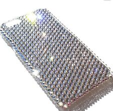 "For iPhone 7 Plus (5.5"") CLEAR Crystal Diamond Bling Back Case made w/ Swarovski"