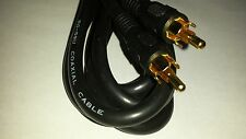 RCA Male To RCA Male 6 Ft. Audio Video Sub woofer Digital Coaxial Cable RG-59 U