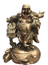 "19"" Big Golden Buddha Statue"
