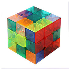 New  Magic Ultra-smooth Professional Speed Transparent Cube Puzzle Twist Gift