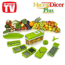 High Quality Nicer Dicer Plus Vegetable Cutter Fruit Slicer Peeler WITH MANUALs