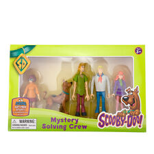 New Scooby Doo Mystery Solving Crew 5 articulated poseable figures playset 3+