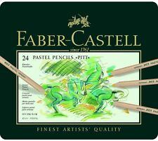 FABER-CASTELL - PITT PASTEL- ARTISTS QUALITY PENCILS - 24 SET