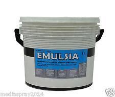 EMULSIA - Idropittura lavabile traspirante per interni - 4 lt - base BIANCA