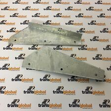 Land Rover 90 110 130 Pair of Defender Front Mud Flap Galvanised Brackets