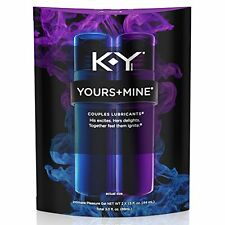 K-Y Yours and Mine Couples Lubricant, 3oz per Package