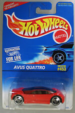 Hot Wheels 1:64 Scale 1996 Series AVUS QUATTRO (RED)