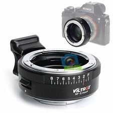 VILTROX Focal Reducer Speed Booster Adapter Nikon F Lens to Sony NEX E-mount【US】