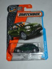 2017 MATCHBOX ADVENTURE '16 FIAT 500X GREEN 3/125 FREE SHIPPING