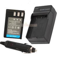 EN-EL9 EN-EL9A EL9A ENEL9 Battery+Charger for Nikon D5000 D60 D40 D40X D3000