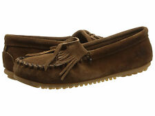 Minnetonka Kilty dark Brown suede 7