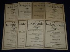 1928 THE INDEPENDENT WEEKLY MAGAZINE LOT OF 24 ISSUES - ARTICLES & ADS - WR 704