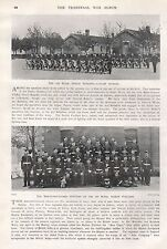 1900 BOER WAR 1st ROYAL DUBLIN FUSILIERS, CYCLIST SECTION, NCOS, 2 IMAGES