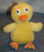 Hallmark Singing Musical Chick Chicken Dance Plush Easter Wacky Doodle Dandy