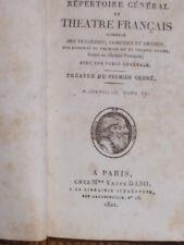 1821  THEATRE FRANCAIS CORNEILLE A PARIS Chez Mme Veuve DABO  Rue HAUTEFEUILL