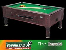 NEW SUPERLEAGUE 7ft X 4ft POOL TABLE TRADITIONAL IMPERIAL TOP QUALITY SLATE BED