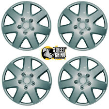 "Toyota Corolla 14"" Tempest Universal Car Wheel Trim Covers Silver"