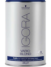 Schwarzkopf Igora Vario Blond 15.9 oz 450 g Plus up to 7 levels of lift Sealed