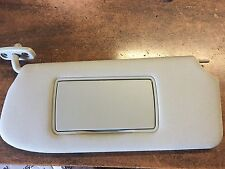 NEW OEM NISSAN SENTRA 2007-2009 DRIVER SUNVISOR W VANITY MIRROR - BEIGE COLOR