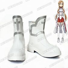 Nekocos Sword Art Online SAO Yuuki Asuna Cosplay Shoes Custom Made