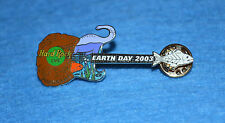 HARD ROCK CAFE 2003 Yokohama Guitar with Dinosaur and Fish Pin # 18213