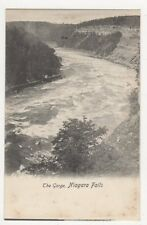 USA, The Gorge, Niagara Falls Early UB Postcard, B226
