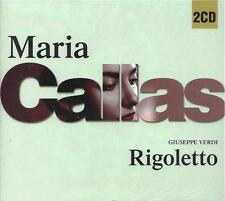 2 CD Box ♫ Compact disc **MARIA CALLAS ♦ RIGOLETTO ♦ G. VERDI** Slidepack Nuovo