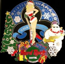 Hard Rock Hotel LAS VEGAS 1999 CHRISTMAS 6 PINS Puzzle Set New in Box! HRC #4785