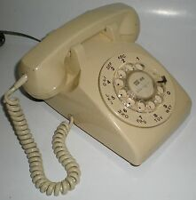 PHONE NORTHERN TELECOM NORTEL DIAL VINTAGE BEIGE TESTED TABLETOP TELEPHONE